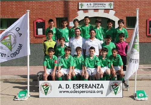 Foto Oficial del Equipo Alevin Temporada 2008-09