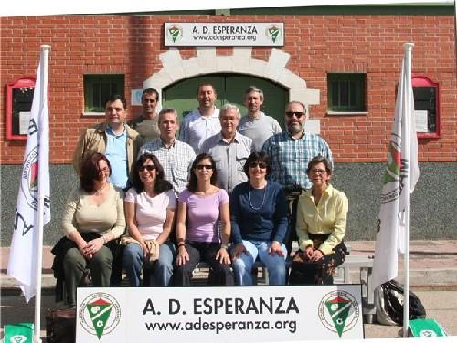 Foto Oficial Temp. 2008-09 de parte de los padres del equipo Alevin