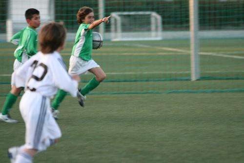 Gol de penalty de Alex que ponia el 1-1 en el marcador