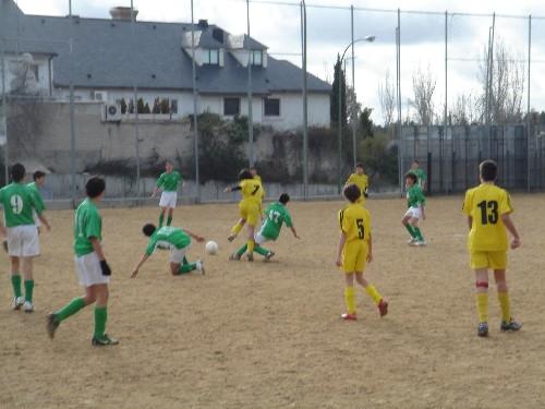 Fotos del partido de la primera vuelta fente al C.C.Chamartín Vergara