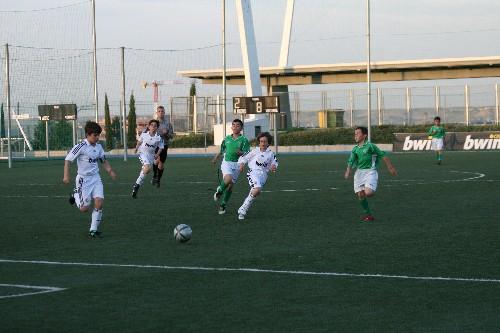 Daniel e Iker presionando aun jugador rival