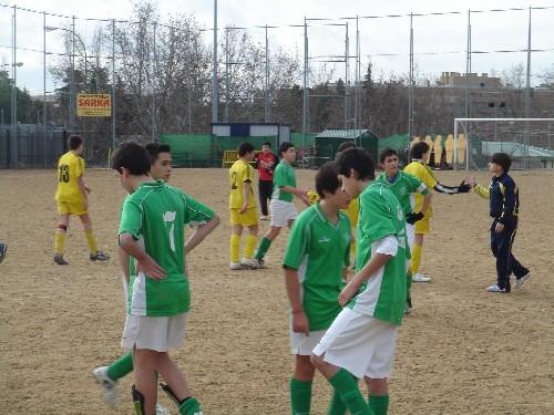 Fotos del partido de la primera vuelta fente al C.C.Chamartín Vergara 2