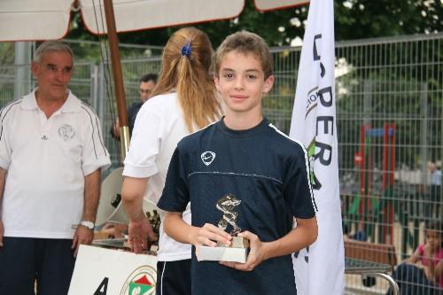 """Edouard jugador de nuestro equipo Infantil """"B""""."""
