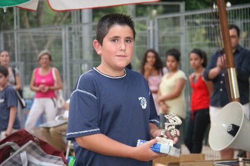 Diego Zamora jugador de nuestro equipo Alevin.