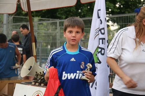 """Alberto jugador de nuestro equipo Benjamin """"A"""""""