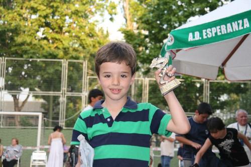 Jaime Mato jugador de nuestro equipo Prebenjamin.