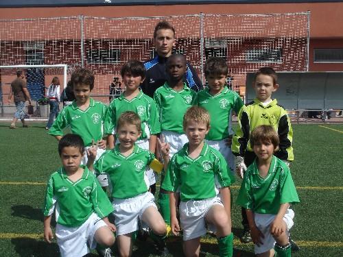 Foto de equipo en el Torneo de Alcobendas