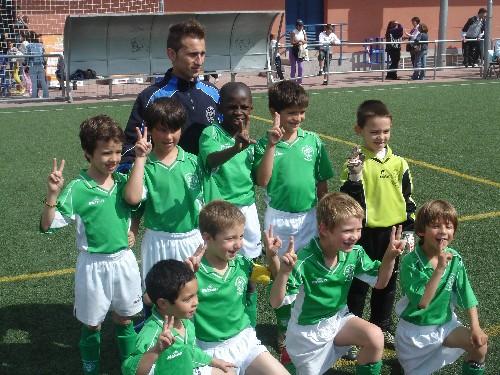Foto de equipo en el Torneo de Alcobendas (2)