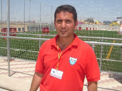 Javier ex-jugador y ex-entrenador de la A.D.Esperanza, ahora en el Parque Sur este