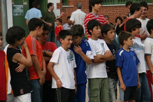 Fernando con su equipo Alevin