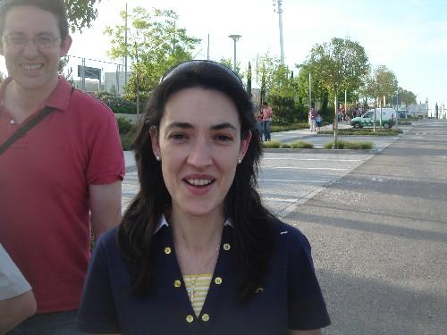 La madre de Pablo Rivas.