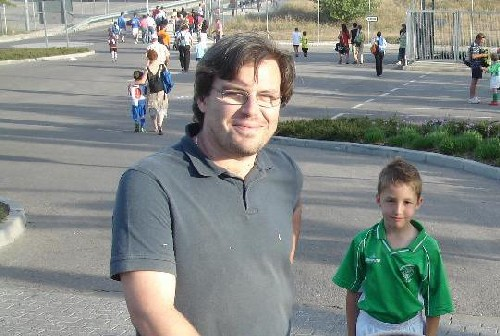El Padre de Pablo Rivas.