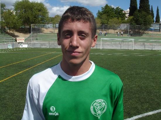 Carlos Heredia autor del segundo gol del partido.