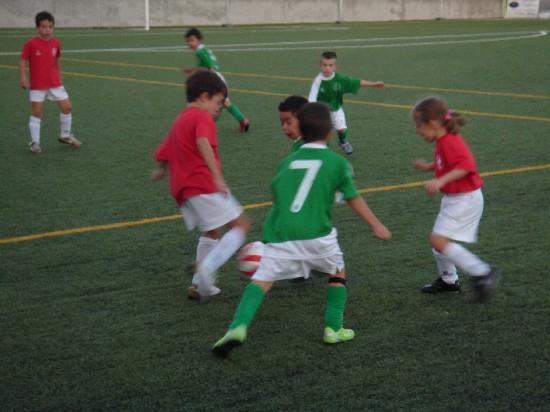 Imagen del partido disputado en el Polideportivo Municipal Esperanza