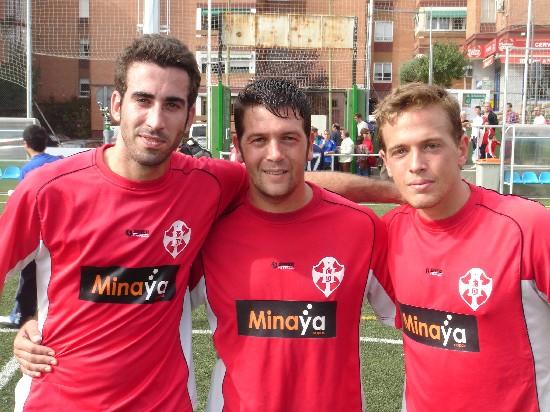 José Manuel, Emeterio y Eduardo Ex-Jugadores de la A.D.Esperanza