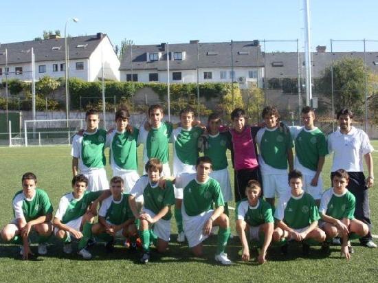 "Foto del Equipo Cadete ""A"" Temporada 2009-10"