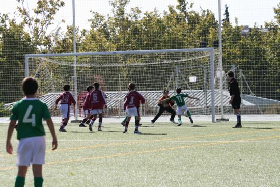 Ocasión de Gol de Sergio Bustos