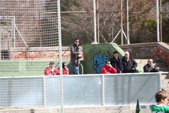 """El Coordinador del At.Madrid """"Quique Estebaranz"""" no se lo quiso perder."""