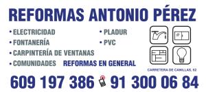 Reformas Antonio Pérez