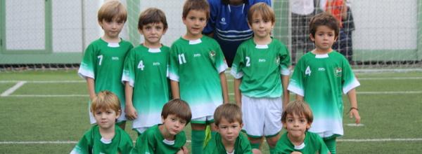 Iniciándose en el fútbol