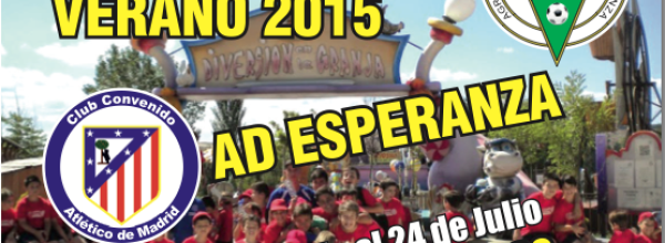 VI Edición Campus de Fútbol de Verano A.D.Esperanza 2015