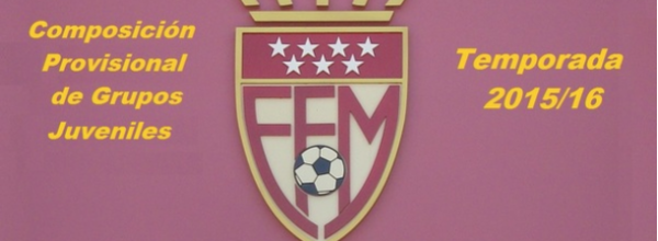 Grupos provisionales Temporada 2015-16 (Actualizado)