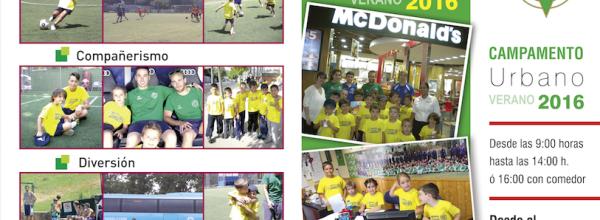 VII Edición Campus de Fútbol de Verano A.D.Esperanza 2016