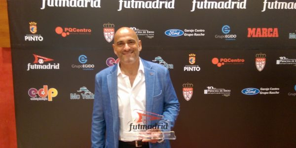 Alejandro Alcaide, premiado como Mejor Entrenador de Segunda Juvenil