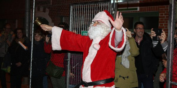 Fotos Papa Noel 2017 en la A.D.Esperanza