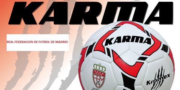 Todos los partidos con el balón oficial Kromex Karma