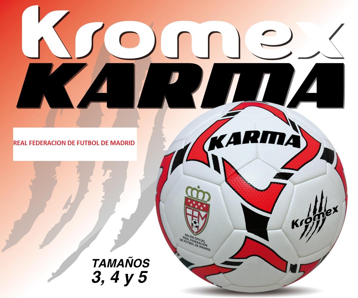 KROMEX Bal/ón F/útbol Karma Oficial R.F.F.M.