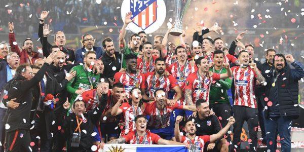 El Atletico de Madrid Campeón de la Europa League, Felicidades.