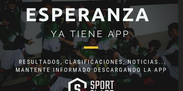 La A.D.Esperanza actualiza la app del club