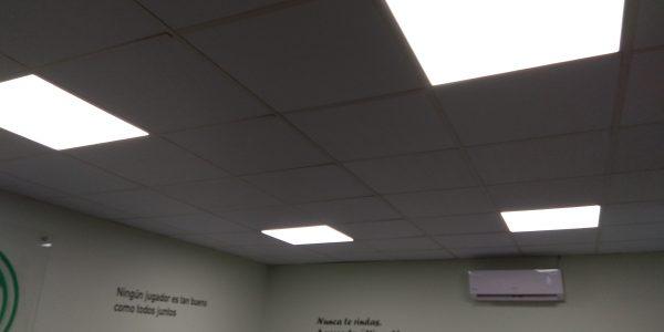 Siguen las mejoras en las instalaciones de la A.D.Esperanza