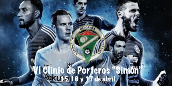 VI Clinic de Porteros «Simón» (15-16 y 17 de Abril)