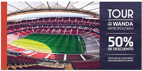 Cupón Descuento TOUR Wanda Metropolitano