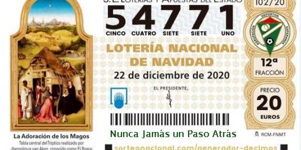 Nº de la Lotería de Navidad A.D.Esperanza: 54.771